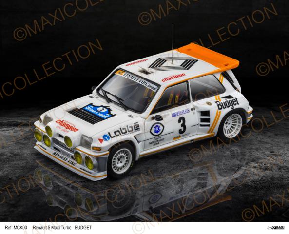 Nouvelle kit resine Renault 5 Maxi Turbo  Instru12