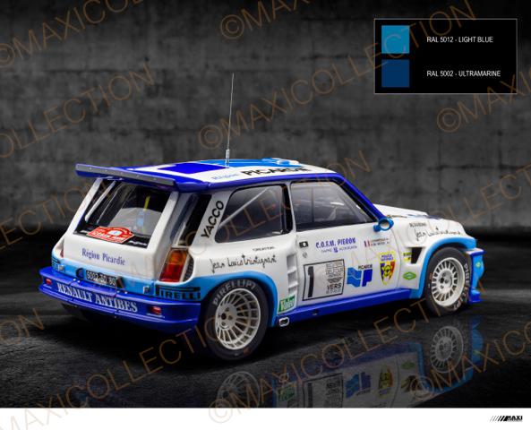 Nouvelle kit resine Renault 5 Maxi Turbo  Instru13