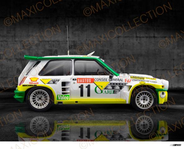 Nouvelle kit resine Renault 5 Maxi Turbo  Instru14
