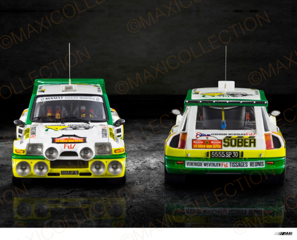 Nouvelle kit resine Renault 5 Maxi Turbo  Instru17