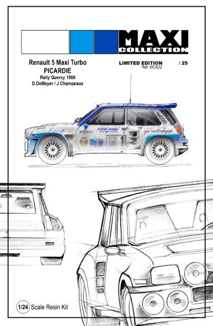 Nouvelle kit resine Renault 5 Maxi Turbo  Portad10