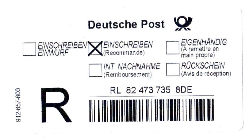 Reco-Aufkleber der Deutschen Post Img28