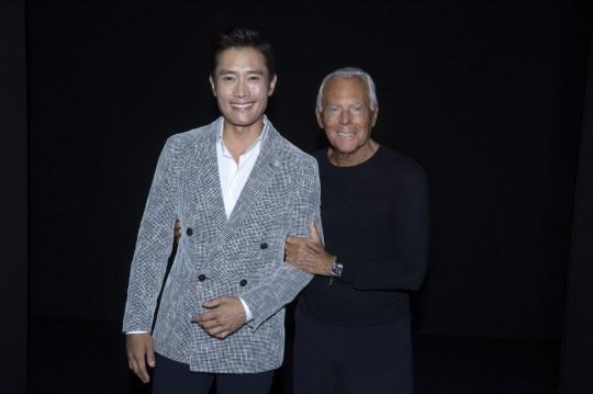 Lee  Byung Hun rencontre Giorgio Armani Lee-by10