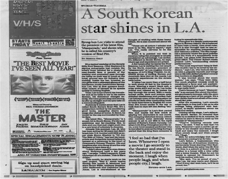 Interview L.A. Times Times210