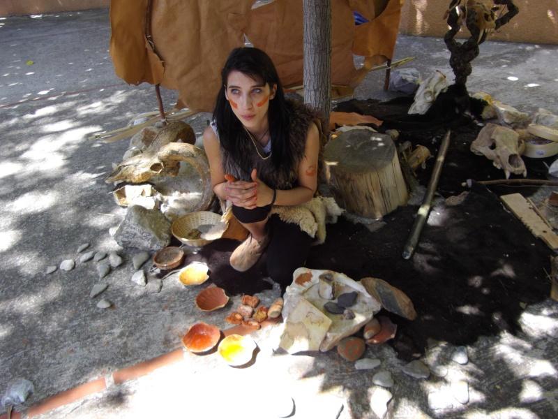 Retour des fètes  de la préhistoire a Tautavel .. Imgp1611
