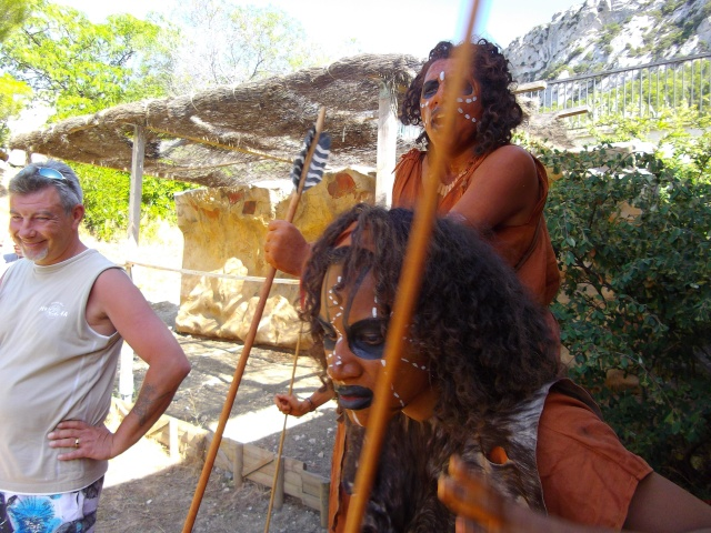 Retour des fètes  de la préhistoire a Tautavel .. Imgp1811