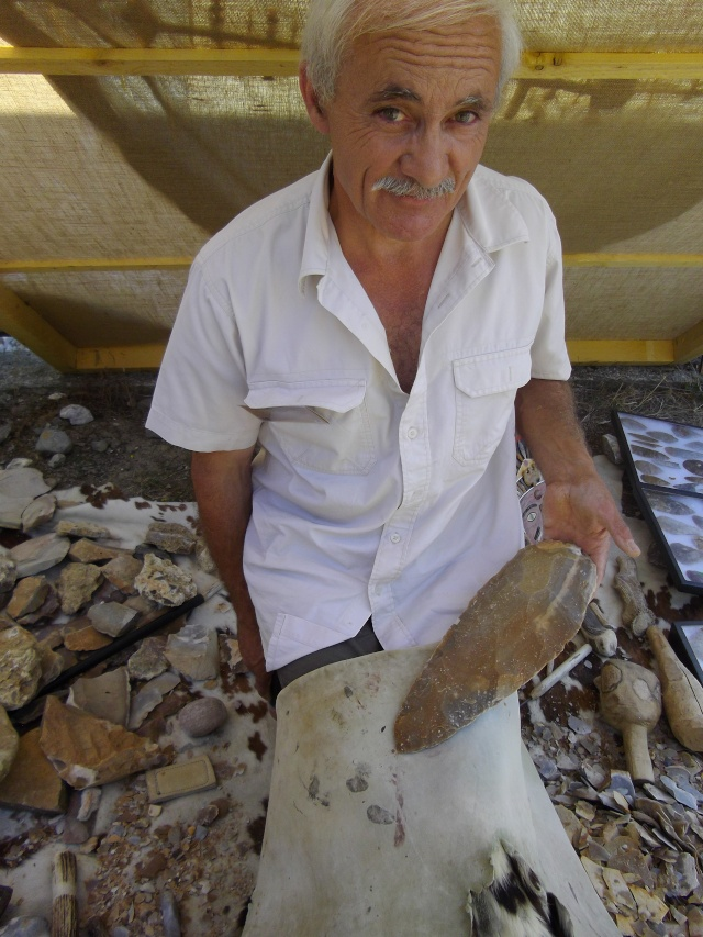 Retour des fètes  de la préhistoire a Tautavel .. Imgp1812