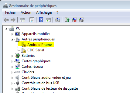 [RESOLU][AIDE]Htc One bloqué sur logo HTC vert et non reconnu dans windows 0110