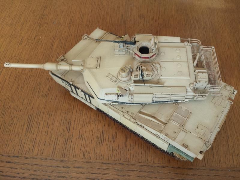 M1A2 SEP Dragon 1/35 et ses jupes... Abrams10
