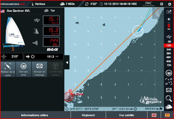 VOLVO OCEAN RACE 2014-2015 / LEG 2 / EN COURS  Captu102