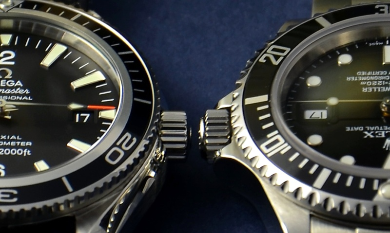 Dweller - Rolex Sea Dweller 16600 versus Omega Planet Ocean 2500 Couron10