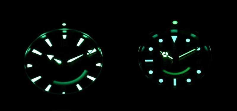 Dweller - Rolex Sea Dweller 16600 versus Omega Planet Ocean 2500 Lumino10
