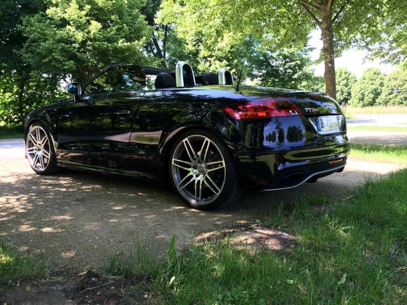 Il est arrivé............ Mon nouveau TTRS Roadster  - Page 4 02110