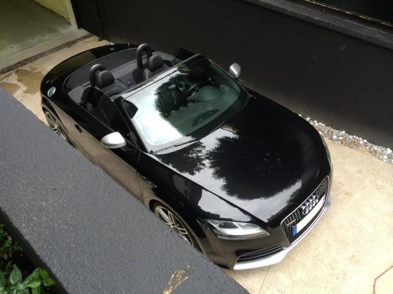 Il est arrivé............ Mon nouveau TTRS Roadster  10178011