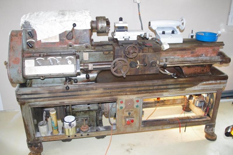 Fraiseuse SOMUA Z1 antique... et Tour AMC idem... Amc11