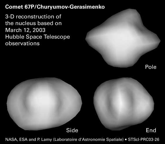 Rosetta : Mission autour de la comète 67P/Churyumov-Gerasimenko  - Page 3 67pnuc11