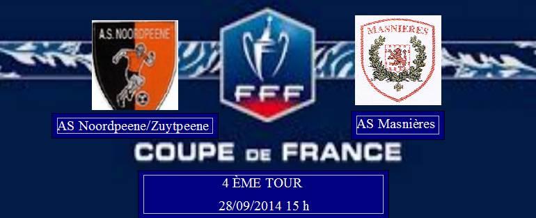 Coupe de France 2014/2015 :  ASNZ / Masnières (4 ème tour) Captur36