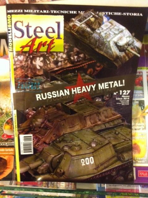 STEEL ART Luglio Agosto 2014 speciale Tank Russi Foto_311