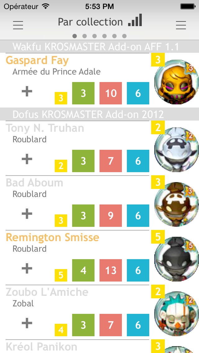 L'application iOS : Krosmaster Assistant Mzl_og11