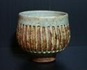 Studio Pottery Yunomi, Incised Initials. Img_6815