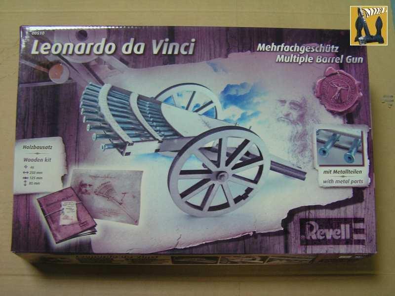La mitrailleuse de Léonard de Vinci de Revell au1/16° 211