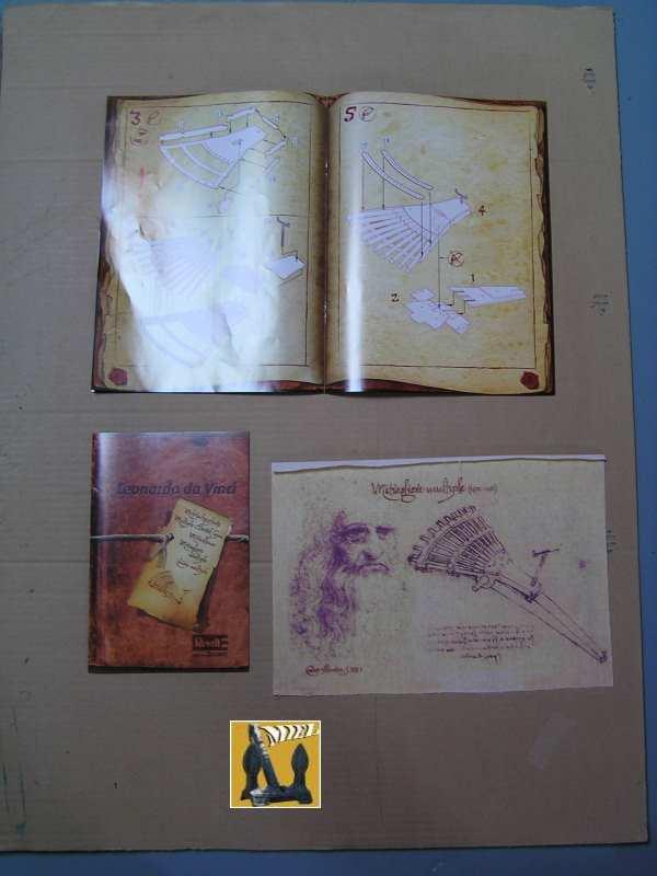 La mitrailleuse de Léonard de Vinci de Revell au1/16° 411