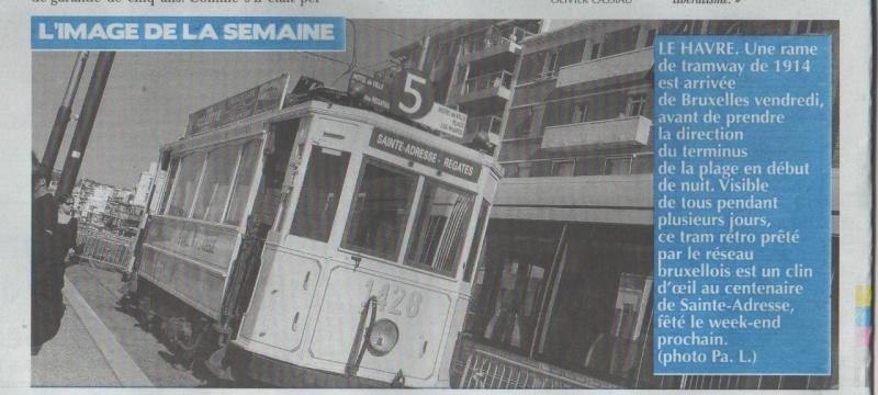 Sainte-Adresse - Souvenir des Belges Tramwa16