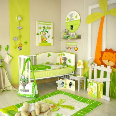re-déco chambre bébé theme jungle Photo-14