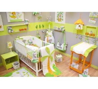 Re Déco Chambre Bébé Theme Jungle Ren_4b12
