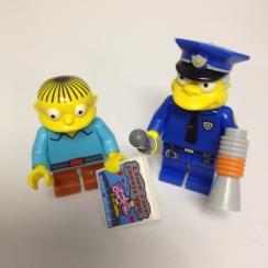 Simpsons Lego Blind Bag Minifigures Wiggy10