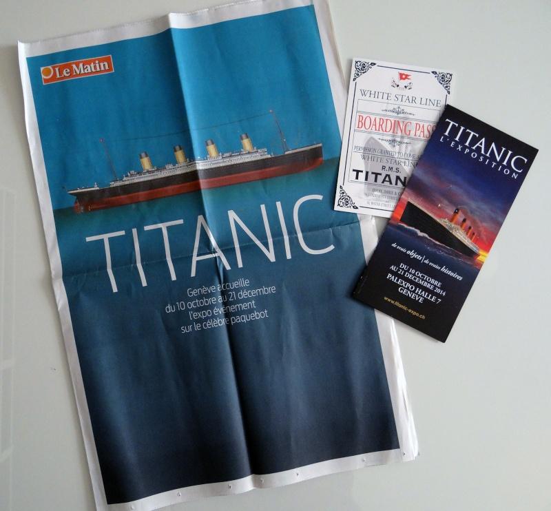 Expo Titanic à Genève du 10 octobre 2014 au 1er février 2015 Dsc00010