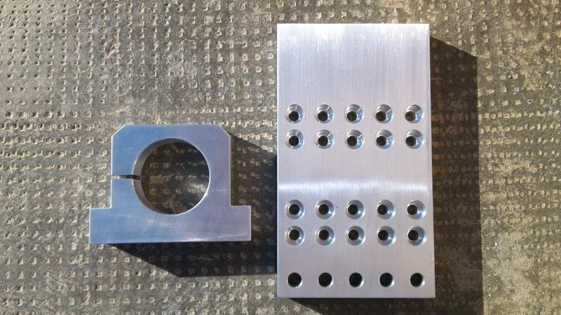 La mia Fresa 4 Assi CNC Homemade Partic10