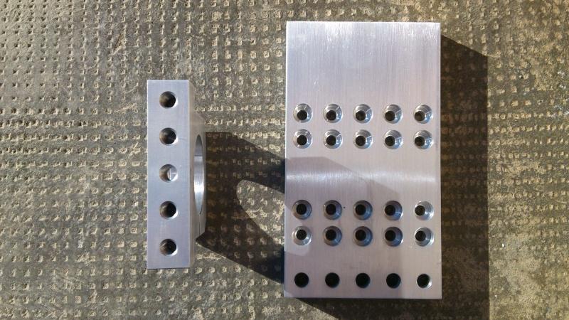 La mia Fresa 4 Assi CNC Homemade Partic11