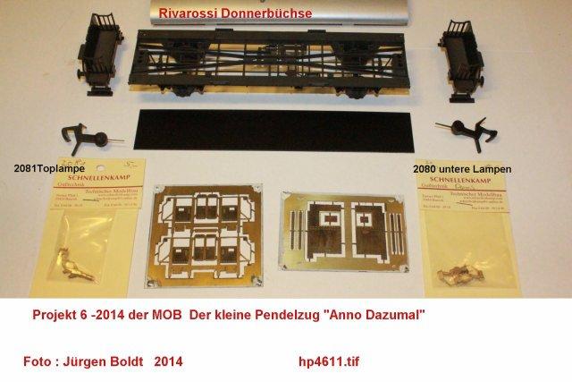 "Projekt 6-2014 - Der Pendelzug ""Anno dazumal"" Hp461110"