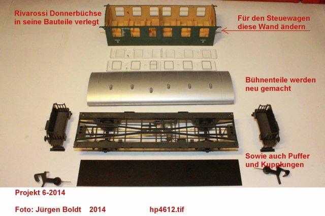 "Projekt 6-2014 - Der Pendelzug ""Anno dazumal"" Hp461210"