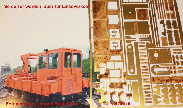 Das dritte Projekt 2014 - Die Henschel-BBC DE2500 Lok in 0 Skl24b10