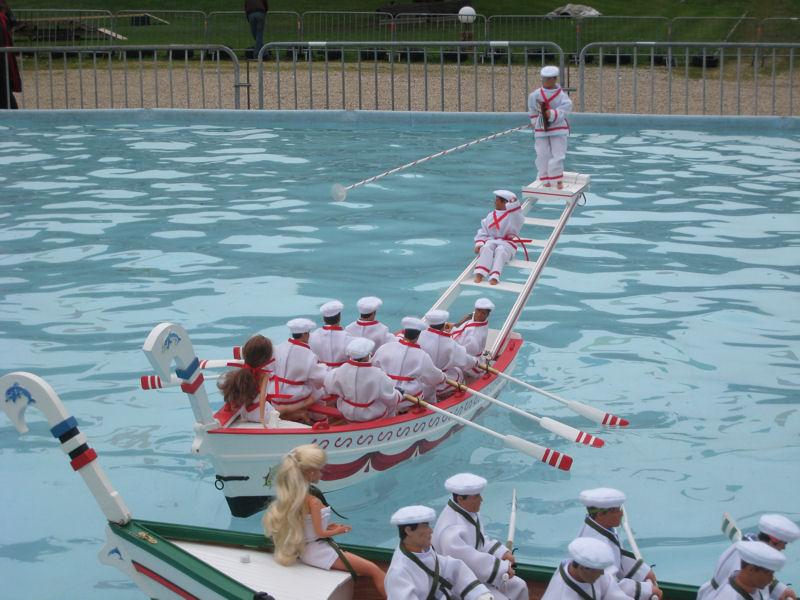 Barques de Joutes Mandréennes (de Saint Mandrier) Joute110