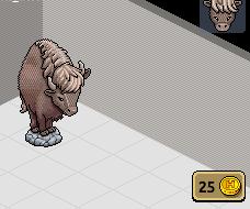 [ALL] Habbo Raro Statua del Bufalo con Badge! Scherm12