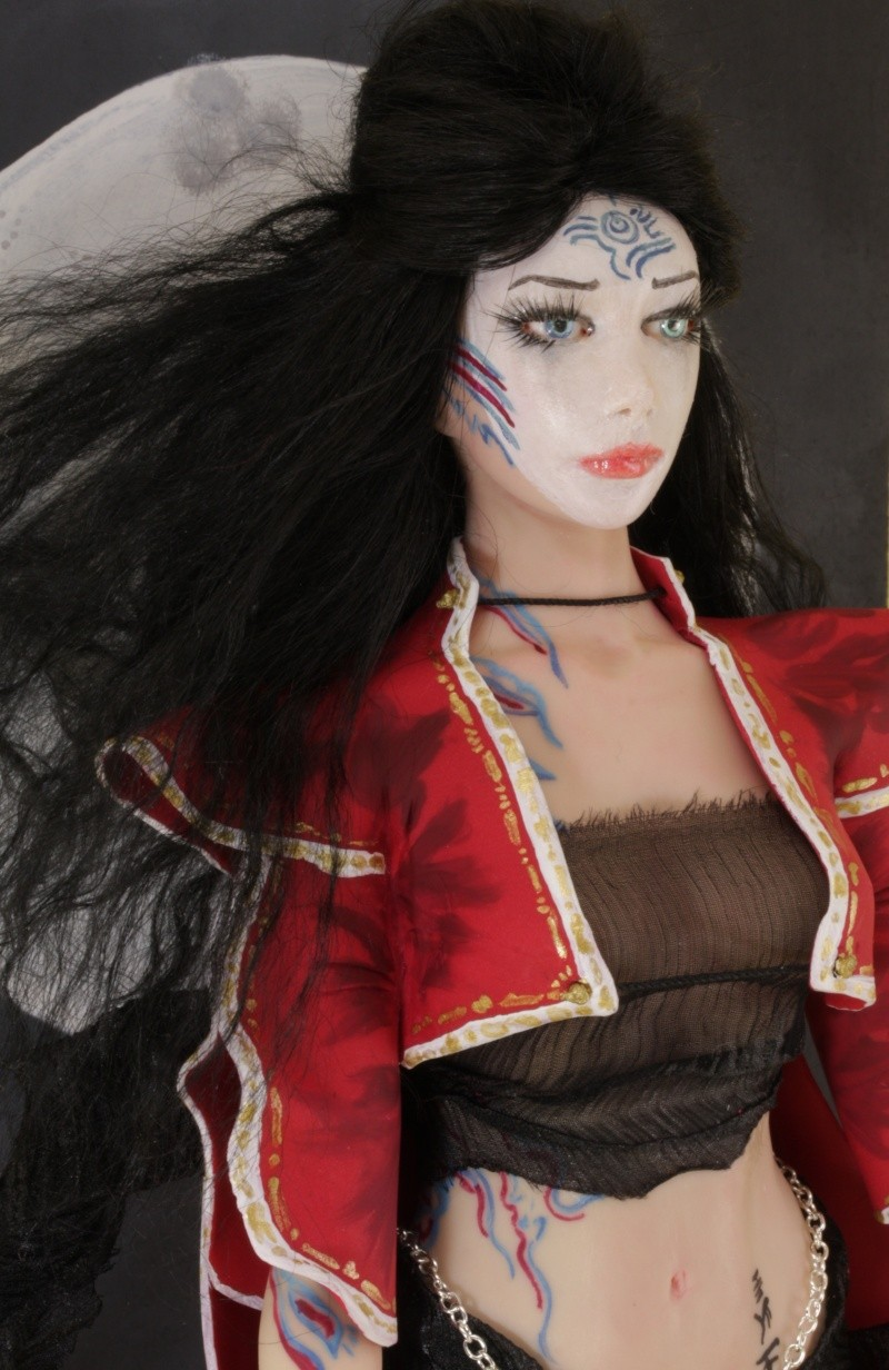 Princess Moon - A tribute to Luis Royo Img_5912