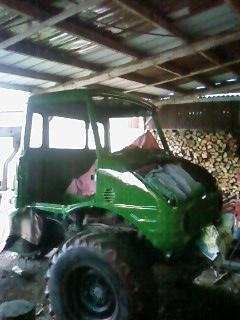 plus que quelques bricoles et en route dans le bois 07810