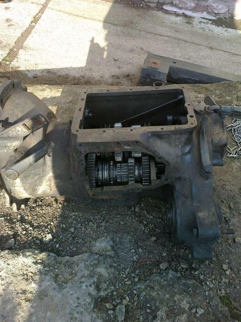 Boîte de vitesses bloquée Embray11