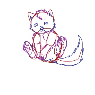 Chibi Wolf tutorial Tuto_510