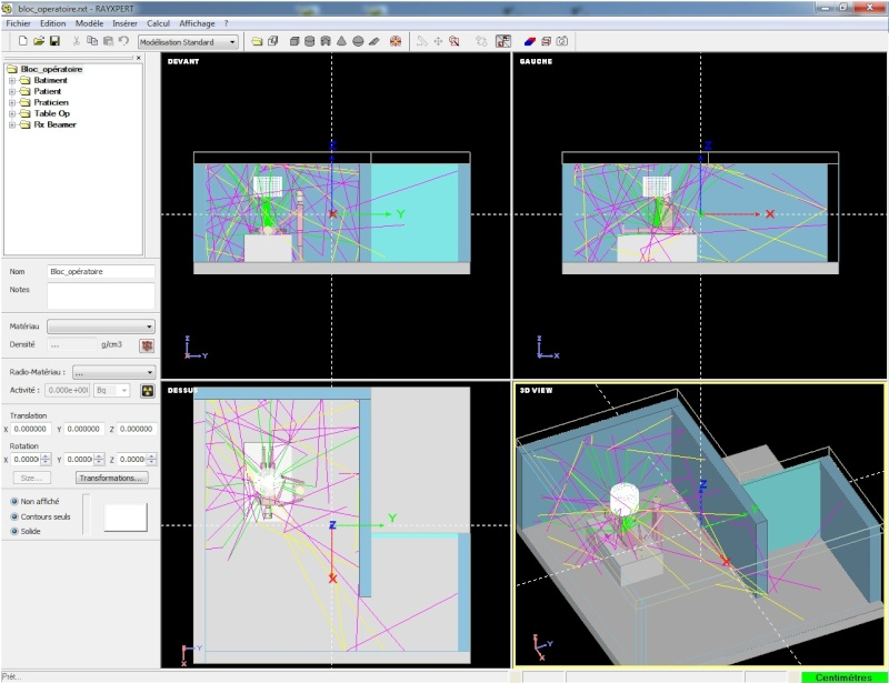 Code Monte Carlo 3D RayXpert Bloc_o10