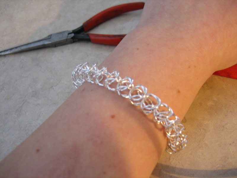 Yay! First Chainmail Bracelet! Img_3010