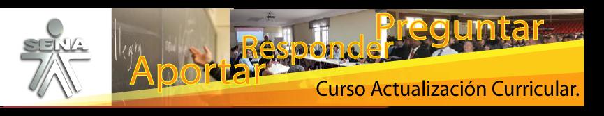 Curso Actualización de desarrollo curricular