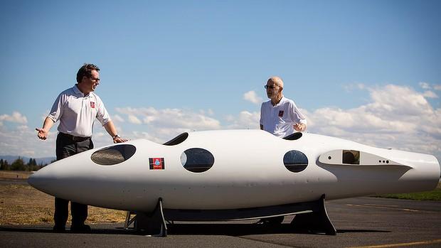 "Perlan II, le planeur ""spatial"" de Airbus et Perlan Project Perlan12"