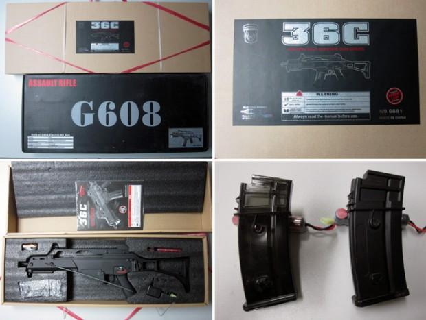 Jing Gong : nouvelle version du G36C Jg-g3610