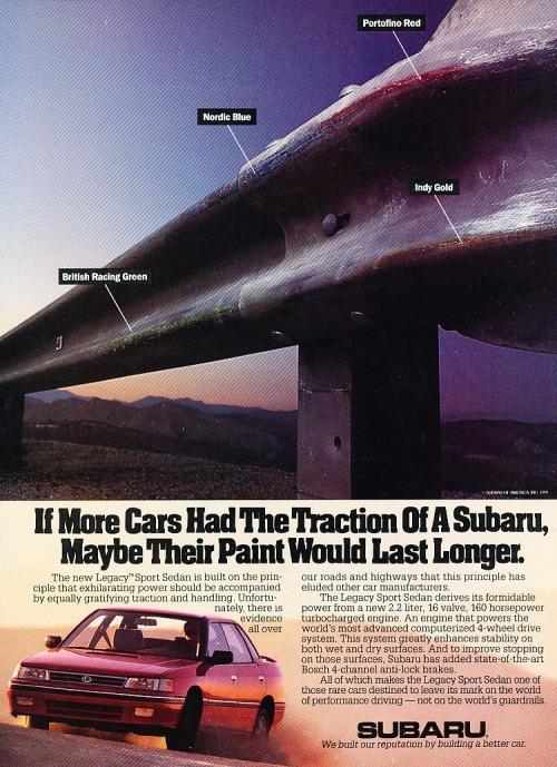 Vintage Subaru ADS Tumblr13