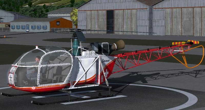 New Alouette-II Alouet10