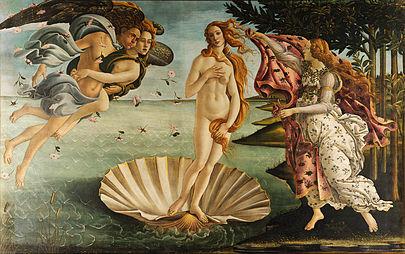 El nacimiento de Venus (Botticelli) 405px-10